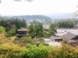 銀閣寺 全景