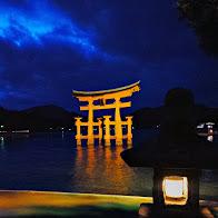 宮島 ライトアップ